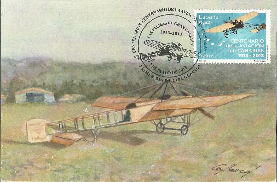 Centenario de la aviación en Canarias