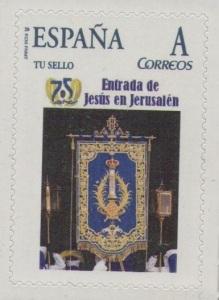 75 ANIVERSARIO ENTRADA JESUS JERUSALEM (GUION)