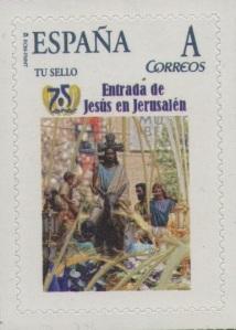 75 ANIVERSARIO ENTRADA JESUS JERUSALEM (PASO TITULAR)