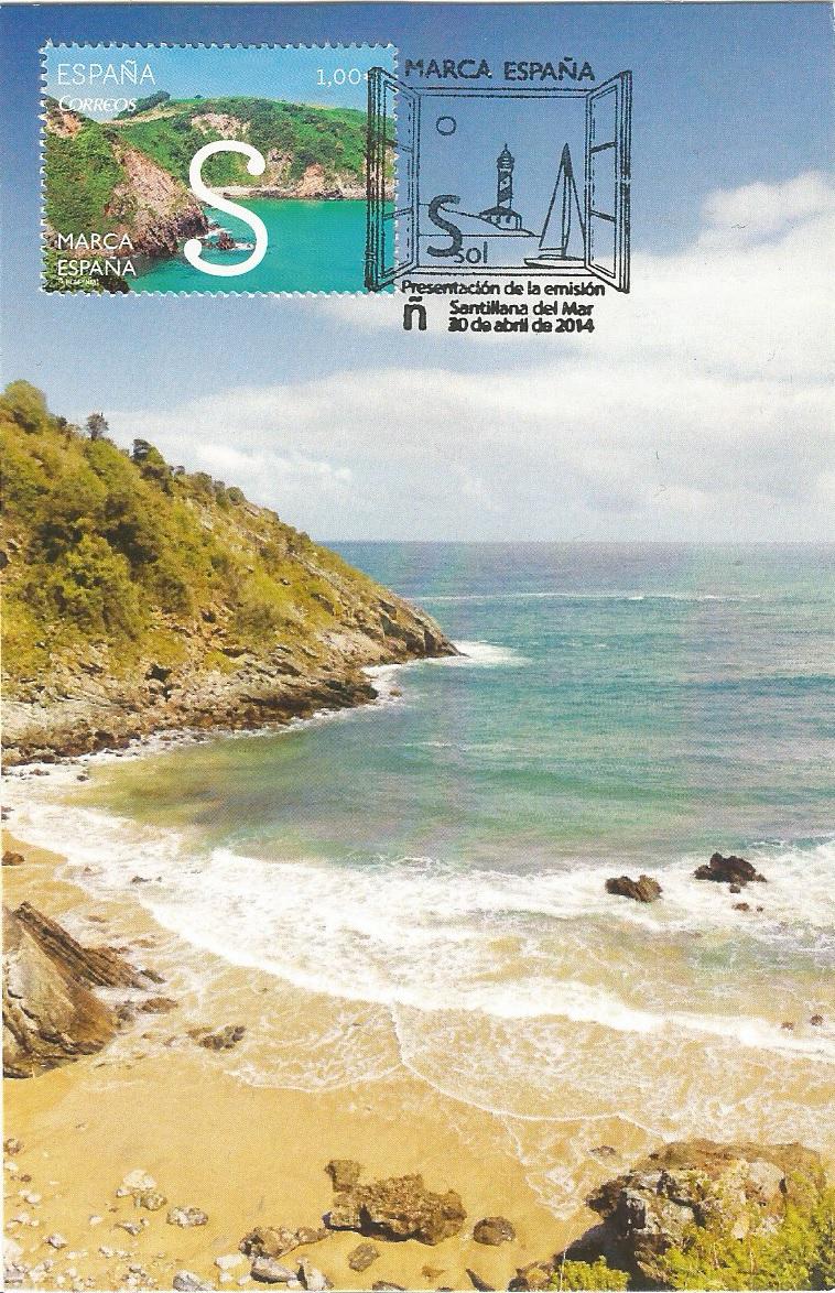 Playa de Pechón. Cantagria