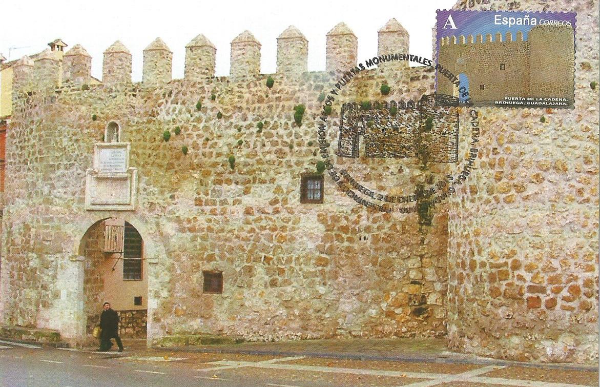 Puerta de la Cadena. Brihuega