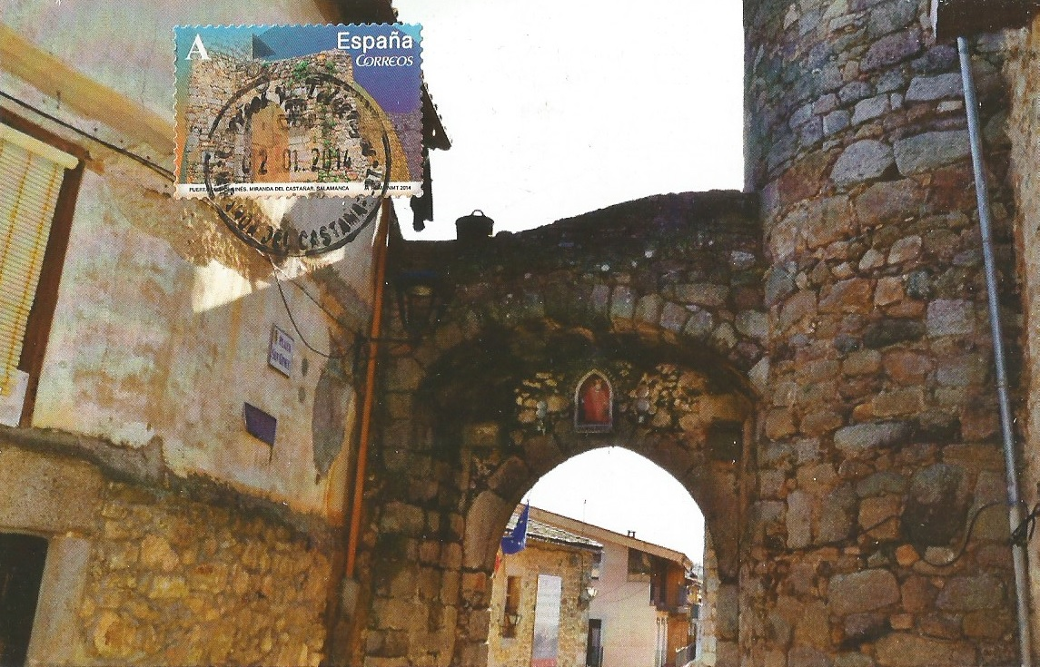 Puerta de San Ginés. Miranda del Castañar