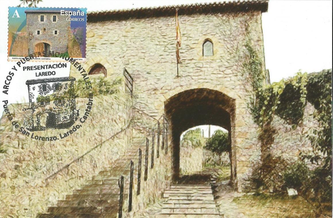 Puerta de San Lorenzo. Laredo