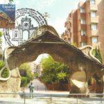 Puerta de la Finca Miralles. Barcelona