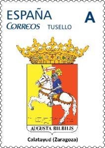 boceto sello escudo calatayud