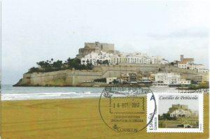 tarjeta castllo peñiscola