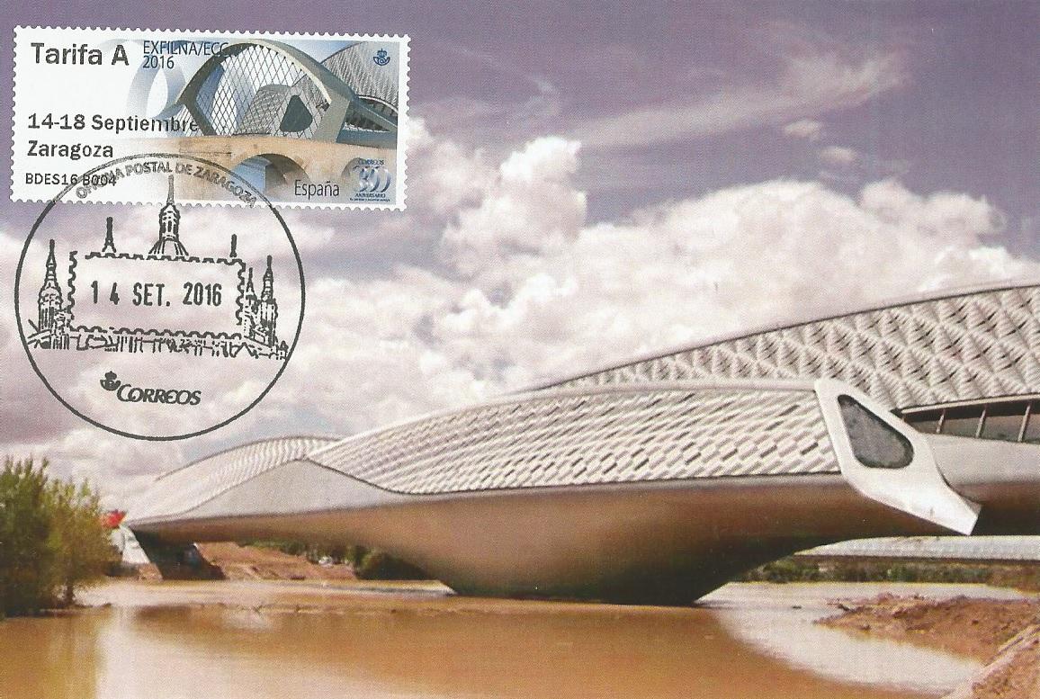 Pabellón Puente. Zaragoza. ATM