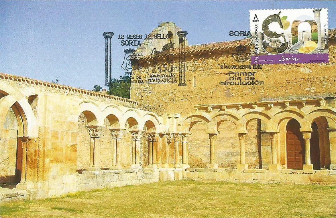 Monasterio de San Juan de Duero. Soria