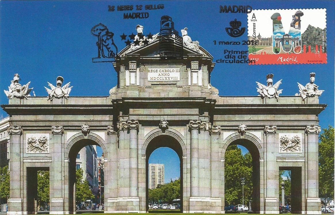 Pueta de Alcala. Madrid