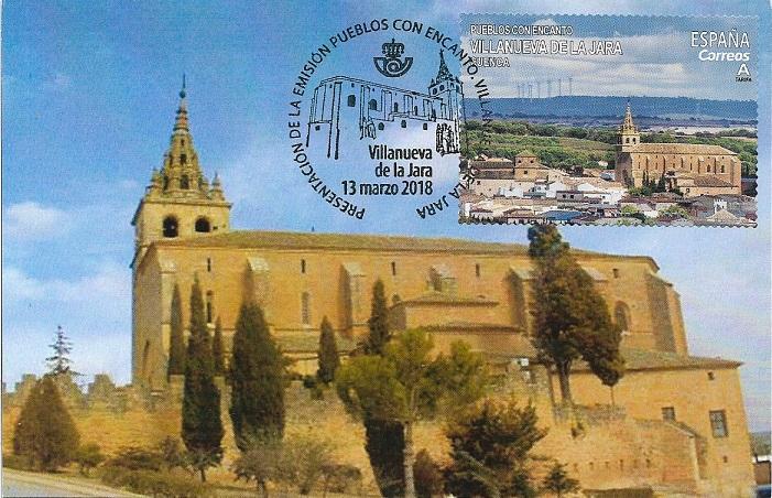 Basílica de la Asunción. Villanueva de la Jara (Cuenca)