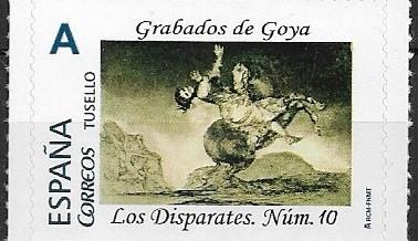 "TUSELLO GRABADOS DE GOYA. ""DISPARATES"" NÚMERO 10"