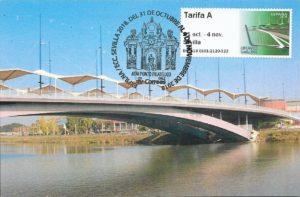 tarjeta puente santo cristo