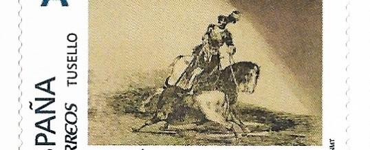 TUSELLO GRABADOS DE GOYA. LA TAUROMAQUIA. NUM. 10