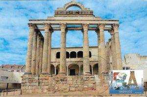 tarjeta templo de diana