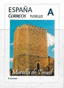 sello muralla de teruel