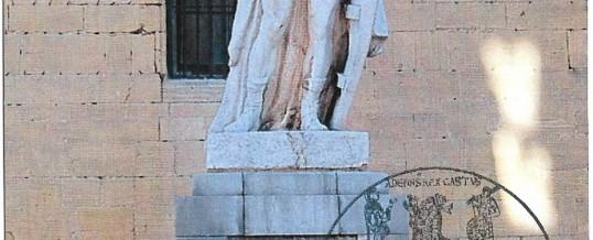TARJETA MAXIMA ALFONSO II, REY DE ASTURIAS