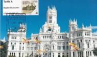 TARJETA MAXIMA PALACIO DE COMUNICACIONES. MADRID. ATM