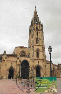 tarjeta catedral oviedo